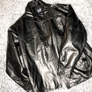 GAP | Vintage Genuine Leather Jacket